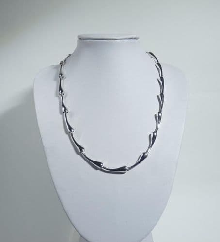 925 Sterling Silver Solid Hand-Crafted Necklace